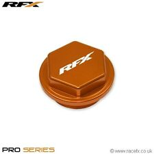 RFX Rear Brake Reservoir Cover Cap KTM SX125 SX250 SXF250 SXF450 EXC125 ORANGE