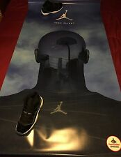Footlocker Canvas Banner Pole Display Poster (Michael Jordan Space Jam Chicago)