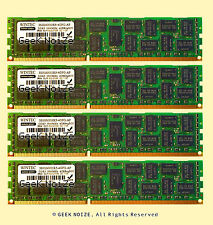 Server RAM 16GB 4x 4GB PC3-12800R ECC REG DDR3 1600 RDIMM Memory FIT Dell HP IBM