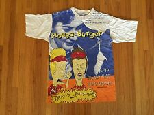 Vintage 90s Beavis and Butthead 1994 All Over Print T Shirt. Size Small