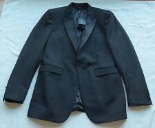 NWT $1595 BURBERRY PRORSUM Black Tuxedo Jacket/Blazer US 42 EU 52