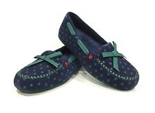 UGG I HEART BELLE MOCCASIN FLATS BLUE NIGHT STARS -WOMEN'S US SIZE 6 -NEW
