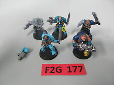 Warhammer 40K 5 Space Marine Scouts - 4 CCW & 1 heavy bolter