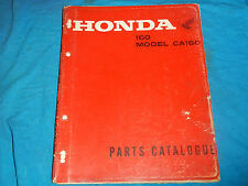 1966-1969 66 67 68 69 HONDA CA160 CA 160 PARTS MANUAL BOOK CATALOG