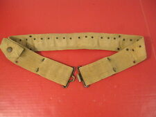 pre-WWI US Army M1903 1st Pat Mills Revolver Cartridge Belt Rimless Eagle Snaps