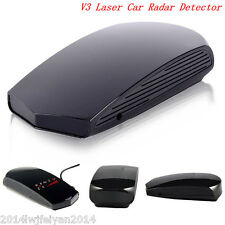 360 Full Band Scanning GPS Laser Radar Speed Detector Voice Alert LED Display V3