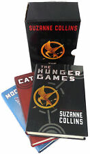 The Hunger Games Trilogy Boxed Set Hardcover DJ by Suzanne Collins Complete