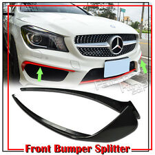 Painted Mercedes BENZ CLA250 C117 W117 Front Bumper Lip Splitter Cover Body Kits