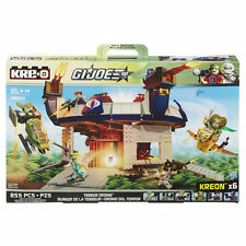 GI JOE KRE-O TERROR DROME 6 MINI-FIGURES 2 VEHICLES Brand New and Sealed KREO