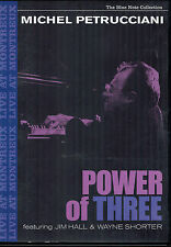 DVD Michel Petrucciani ‎– Power Of Three ,Neuwertig,Blue Note ‎
