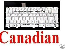 ASUS EEE PC X101CH 1025C 1025CE Keyboard - Canadian CA - White