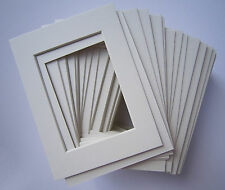 18 11x14 Off White Pre-cut Mat Mats + Back Backing Board for 8x10 Photo 4ply