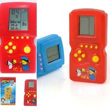Hot Sell Children Handheld Tetris LCD Electronic Games Develop Intelligence Toy