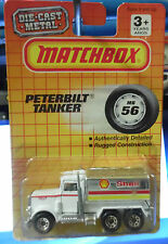 Matchbox PETERBILT TANKER TRUCK #56 SHELL OIL 1992