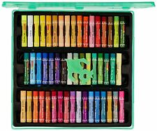Camel Oil Pastel with Reusable Plastic Box - 50 Shades FREE SHIP