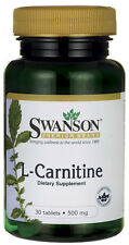 SWANSON PREMIUM L-Carnitine 500mg 30 tablets