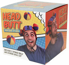 Butt Head 3 Velcro Balls Plus Hat - Throw Them At Person Wearing Hat Party Game