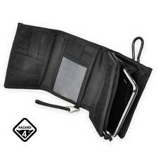 Hazard 4 Mens Mil iWallet MOLLE Combined iPhone Case Holder & Wallet Pouch Black