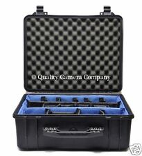 Pelican 1554 Case - MIL SPEC PROTECTION, WATERPROOF INSERT+DIVIDERS - EXCELLENT!
