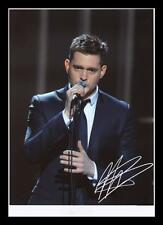 MICHAEL BUBLE AUTOGRAPHED SIGNED & FRAMED PP POSTER PHOTO
