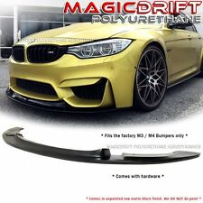 NEW GT Style Urethane Front Bumper Chin Lip For 2015 - 2017 BMW F80 M3 / F82 M4
