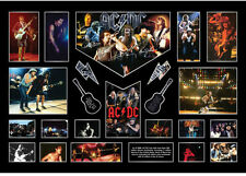 New AC DC ACDC Signed Limited Edition Oversized Memorabilia Framed