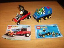 Lego - City Dragster & System Müllwagen Nr. 6538 & 6564 mit BA