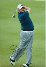 Shane LOWRY SIGNED AUTOGRAPH 12x8 Photo AFTAL COA Open Golf Royal Liverpool 2014