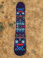 Gnu PENDLETON Limited Edition Snowboard - VERY RARE - Size 149 - BEAUTIFUL - NEW