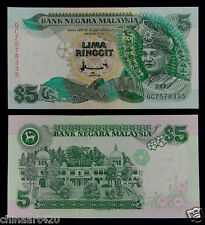 Malaysia BANKNOTE 5 Ringgit 1998 UNC