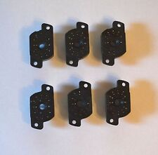 SOCKETS 6PCS NEW for NIXIE tubes IN-12A IN-12B IN-12 IN-15 IN-15A IV-22 NOS