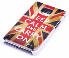 Custodia protettiva per Samsung Galaxy s2 PLUS + i9105p CUSTODIA CASE INGHILTERRA KEEP CALM