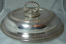 Victorian Silver Plated Serving Dish By Elkington 1464g My Ref A597017