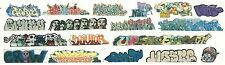 COLORFUL ORIGINAL HO GRAFFITI DECALS FOR MANY CARS BNSF CSX UP CP  SET 318
