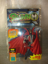 RARE Todd McFarlane's Spawn Poseable Action Figure Flying Cape Action