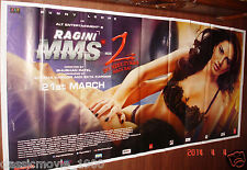 RAGINI MMS 2 GIANT  52 X 106 SIX SHEET BOLLYWOOD  POSTER NO. 2