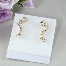 E6 Designer Inspired Gold Plated Star Constellation Stud Earrings - Gift Boxed