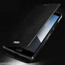 MOFI Vintage Metallic Leather Style Flip Stand Case Cover for OnePlus 2 - Black