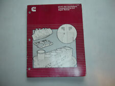 Cummins NH NT 855 Counterbore Troubleshooting Repair Manual Service Shop Factory