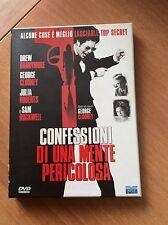 CONFESSIONI DI UNA MENTE PERICOLOSA con G. CLOONEY 2 DVD 2 DISC DIRECTOR'S CUT