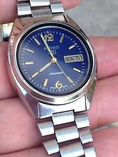 Men's RARE VINTAGE SEIKO 7009-3041 17 JEWELS  AUTOMATIC DAY/DATE Wrist Watch