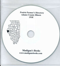 Adams Co Illinois Quincy IL directory genealogy history