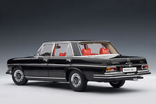 AUTOART 1970 MERCEDES-BENZ 300 SEL Black Metallic 1:18 New Stock *Last One!