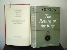 TOLKIEN: LORD OF THE RINGS (1966) THE RETURN OF THE KING (2ND 1/1) HB DW hobbit