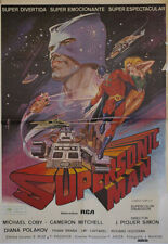 Supersonic Man  -- Cartel de Cine Original --