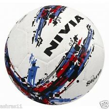 "NIVIA Football ""Storm"" White Size 5 - Rubber Molded"