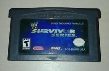 Wrestling survivor series WWE- Game Boy Advance Gioco Game Gameboy GBA