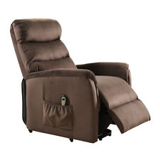 New Electric Lift Chair Recliner Reclining Chair Remote Living Room Furniture