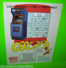 GOT-YA By GAME-A-TRON 1981 ORIGINAL VIDEO ARCADE GAME PROMO SALES FLYER