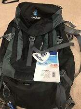 Deuter ACT Trail 30 Hiking Backpack One Size, Black/Granite 7410